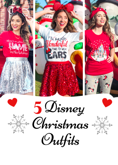 Christmas Outfits.5 Disney Christmas Outfit Ideas