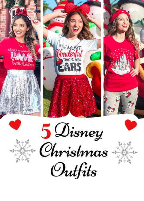 Christmas Costume Ideas.5 Disney Christmas Outfit Ideas